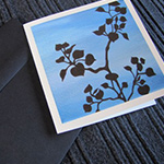 Aspen Silhouette Notecards