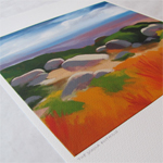 The Sandia Foothills Print